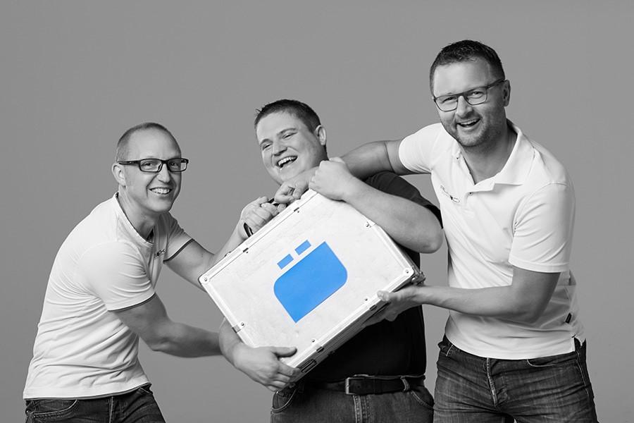 Das Team von Auböck Sicherheitssysteme