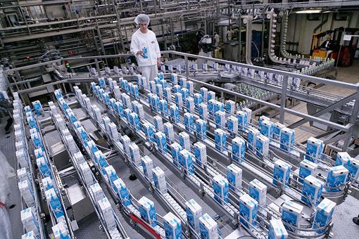Prozessübewachung in der Lebensmittelproduktion